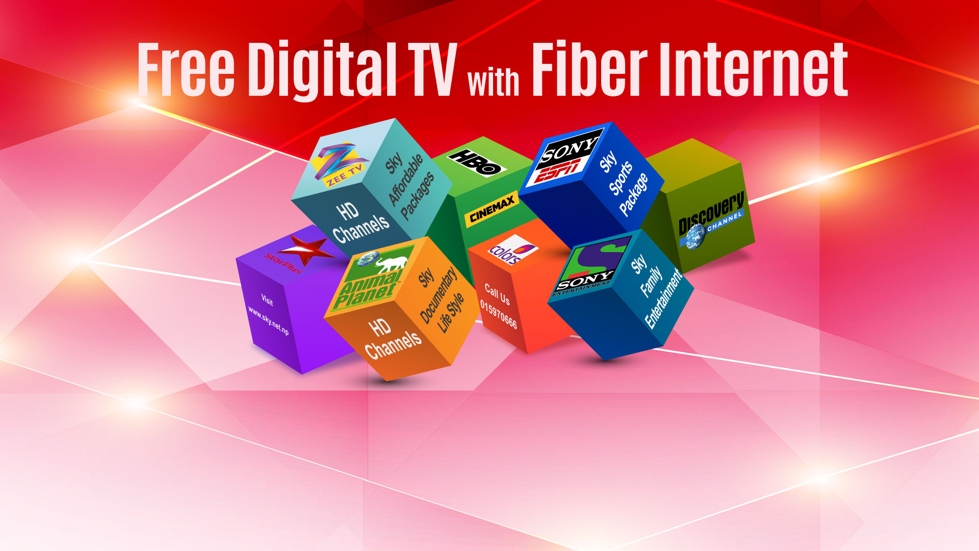 Free DTV with Fiber Internet